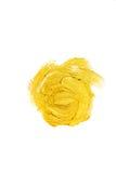 Illustrazione dell'estratto della macchia della pittura di struttura dell'acquerello dell'oro Colpo brillante della spazzola per  Fotografie Stock