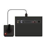 Illustrazione dell'icona della console del gioco di video domestico di vettore Gioco del geek con riferimento a Fotografia Stock
