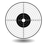 Illustrazione dell'obiettivo Immagine Stock