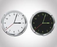 Illustrazione dell'orologio Fotografie Stock