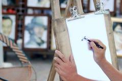 Illustrazione dell'uomo Fotografia Stock