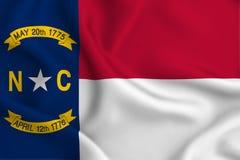 Illustrazione della bandiera di North Carolina illustrazione di stock