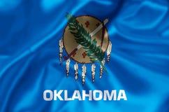 Illustrazione della bandiera di Oklahoma illustrazione di stock