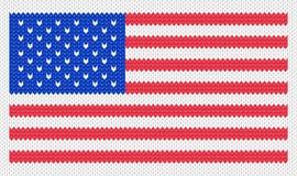 Illustrazione della bandierina degli S.U.A. Fotografia Stock Libera da Diritti