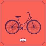Illustrazione della bici, illustrazione Fotografie Stock Libere da Diritti