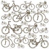 Illustrazione della bicicletta Fotografia Stock