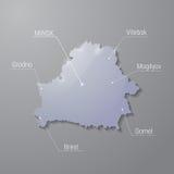 Illustrazione della Bielorussia Fotografia Stock