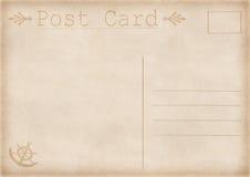 Illustrazione della cartolina dell'annata Fotografia Stock