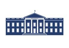 Illustrazione della Casa Bianca Immagine Stock Libera da Diritti