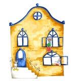 Illustrazione della casa per i topi Fotografie Stock Libere da Diritti