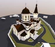 Illustrazione della chiesa illustrazione di stock
