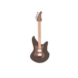 Illustrazione della chitarra elettrica illustrazione di stock
