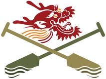 Illustrazione della concorrenza di Dragon Boat di cinese Immagine Stock Libera da Diritti