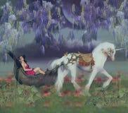 Illustrazione della fantasia art. Immagini Stock Libere da Diritti