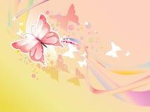 Illustrazione della farfalla Fotografia Stock