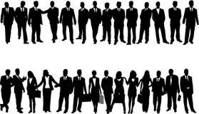 Illustrazione della gente di affari illustrazione vettoriale