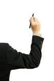 Illustrazione della mano dell'uomo d'affari Immagini Stock Libere da Diritti