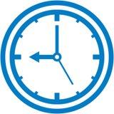 Illustrazione della manopola di orologio di vettore Fotografie Stock