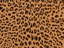 Illustrazione della pelle del leopardo Fotografia Stock