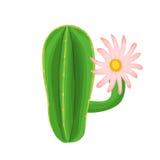 Illustrazione della pianta del cactus Fotografie Stock Libere da Diritti