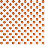 Illustrazione della pizza di merguez per la decorazione del prodotto, la pubblicità, la carta di regalo o il web design immagine stock libera da diritti