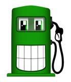 Illustrazione della pompa di gas allegra illustrazione di stock