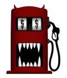 Illustrazione della pompa di gas del mostro illustrazione di stock