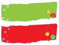 Illustrazione della priorità bassa del regalo del blocco per grafici della cartolina di Natale Fotografie Stock Libere da Diritti