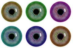 Illustrazione della pupilla dell'occhio Royalty Illustrazione gratis