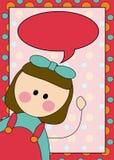 Illustrazione della ragazza Royalty Illustrazione gratis