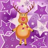 Illustrazione della renna Fotografie Stock
