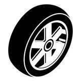 Illustrazione della ruota Fotografia Stock
