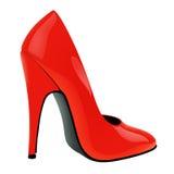 ILLUSTRAZIONE della scarpa Immagini Stock Libere da Diritti