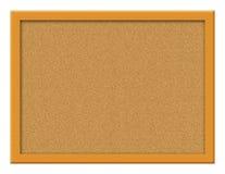 Illustrazione della scheda del sughero Fotografie Stock
