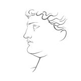Illustrazione della scultura illustrazione vettoriale