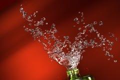 Illustrazione della spruzzata dell'acqua Fotografia Stock