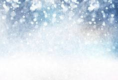 Illustrazione della stagione invernale immagine stock