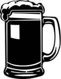 Illustrazione della tazza di birra Fotografia Stock Libera da Diritti