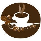 Illustrazione della tazza di caffè Fotografie Stock