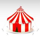 Illustrazione della tenda di circo Fotografia Stock Libera da Diritti