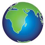 Illustrazione della terra Immagini Stock