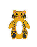 Illustrazione della tigre illustrazione di stock