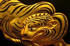Illustrazione della tigre dell'oro fotografia stock libera da diritti