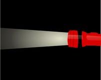 Illustrazione della torcia elettrica Fotografie Stock