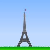 Illustrazione della Torre Eiffel Immagini Stock
