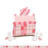 Illustrazione della torta - immagine di vettore Fotografia Stock