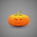 Illustrazione della zucca di Halloween Fotografie Stock