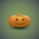 Illustrazione della zucca di Halloween Fotografie Stock Libere da Diritti