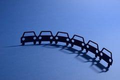 Illustrazione delle automobili Fotografia Stock Libera da Diritti