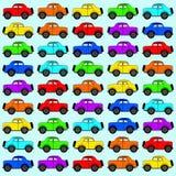 Illustrazione delle automobili Fotografie Stock Libere da Diritti